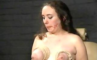 breast castigation and bizarre bondage of english
