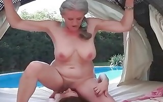 grannies and youthful beaties lesbo compilation