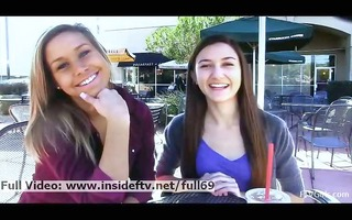 kennedy lesbo sweethearts kissing and acting