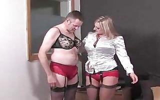 mistresse transforms her sissy boy