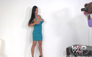 wcpclub breasty brunette anal cougar