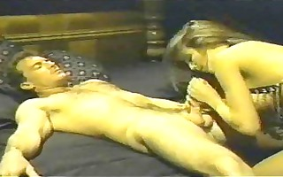 vintage porn features woman in chains screwed in