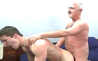 young homosexual hunk acquires his anal gape