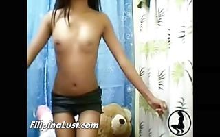 sexually excited tan filipina stripping stripped