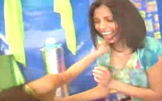 anetta keys: hot lesbian babes put on a show