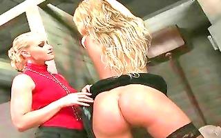 chic bitch goddess dominating sexy blond