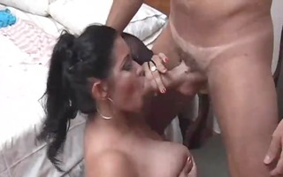 breasty aged latin chick chick fucked