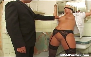 blonde old mother i got drilled and tortured