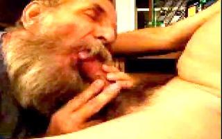 bearded dad engulfing