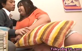 chubby hitomi matsumoto playing with banana 34 by