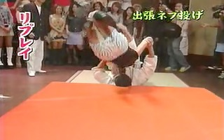 japanese tv show judo on angels in skirts