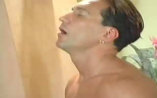 anal mature and youthful fellows double