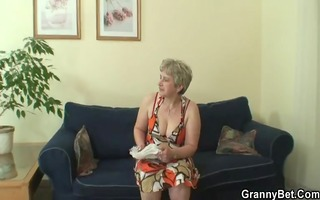 lonely granny takes big dick