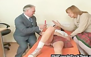 drilled by an old perverted shrink