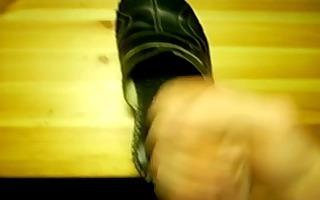 cum on shoe 11