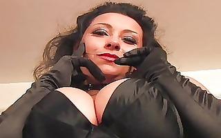 provocative dark brown mother i in sexy underware