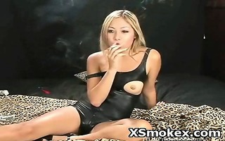 kinky breasty woman smokin hawt fetish