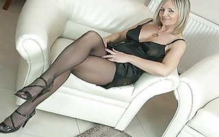 hawt golden-haired d like to fuck in hose