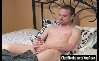 dark brown str guy taylor masturbating