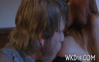 dirty cleft is licked and fucked