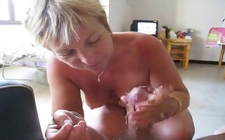 103yo fat-assed french wife making a oral pleasure