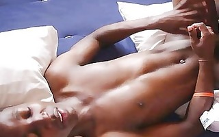 uncut african darksome shlong encounter with
