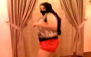 hawt big beautiful woman arab dance