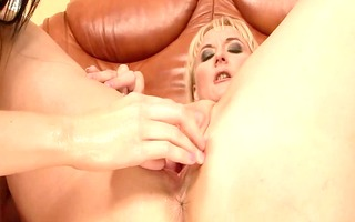pleasant lesbo fisting 59 (mature+young)