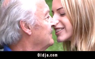 oldman enjoys threesome fucking apologies from