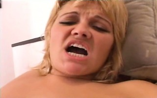 golden-haired babe fisted and screwed hard