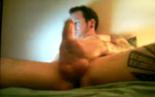 massive schlong hung hawt chap on webcam