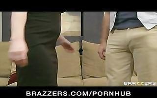 cheating big-tit dark brown milf floozy bonks