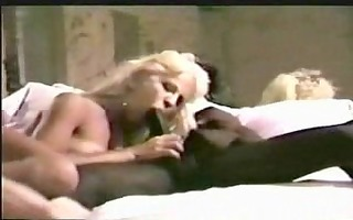 darksome on white (blonde) wife interracial ball