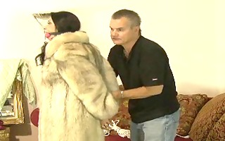 servitude in fur coat