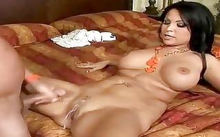latin chick milf sophia lomeli gets her gap