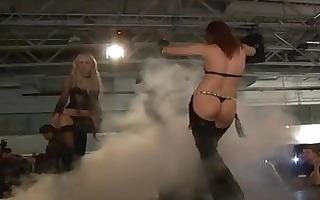 wild fetish fuckfest scandal on public show stage
