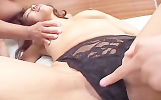 avmost.com sexy housewife serves her guests with