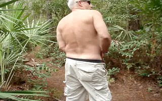 forest trail jerk off