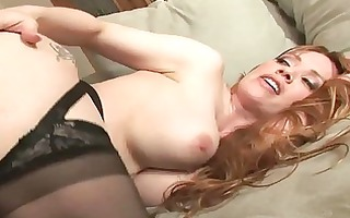 breasty blond mother i shags with concupiscent