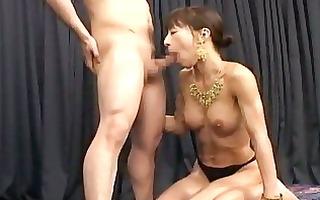 lusty oriental slut drilled by excited budhist