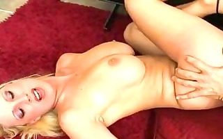 breasty blond mother i with bald putz acquires