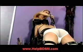 golden-haired domme