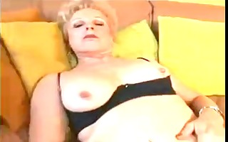 mom with flaccid saggy scoops &; boy