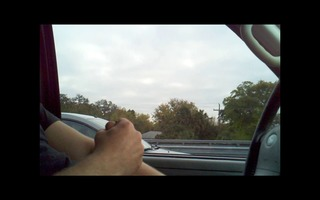 flashing during the time that driving