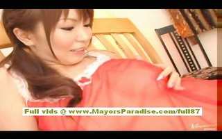 japanese teen cutie blowjobs and acquires licked