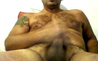 latin shaggy dad jerk off