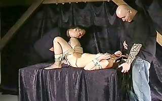 tied oriental oral-job