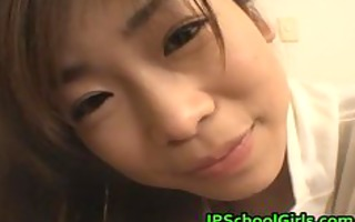ami hinata enchanting oriental schoolgirl enjoys