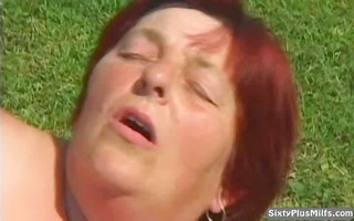 smutty old doxy receives cumhozed after a lengthy