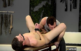 aiden is in for threesome real punishment from